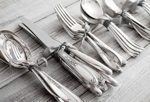 CUTLERY AND GLASS / a touch of classic vintage / by Michellè JD