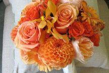 Red And Orange Weddings