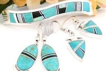 Contemporary Inlay Jewelry / Native American Contemporary Inlay Jewelry Designers Marie Tsosie, Albert Francisco, Cathy Webster, Larry Chavez, Sheila Tso, Kenneth Bitsie from Four Corners USA OnLine Store / by Four Corners USA OnLine