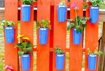 Vertical Gardening / Vertical gardening is a recent trend that is sweeping patios across the nation! Find how-to guides and advice for starting your own vertical garden here.