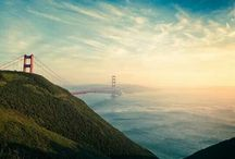 San Francisco, California / See, Drink, Eat, Do in San Francisco and the surrounding bay area.... / by Julie Hart