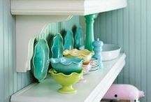Cupboards of Dishes