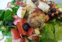Summer Berry Recipes / Recipes that use summer berries - strawberries, raspberries, blueberries, etc.