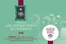 #LesBeauxDuos par L'homme au Masculin / Retrouvez la vision de l'élégance par www.lhommeaumasculin.com.