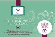 #LesBeauxDuos par UrSoFrench / Retrouvez la vision de l'élégance de www.ursofrench.com