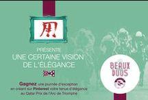 #LesBeauxDuos par M0SHI M0SHI / Retrouvez la vision de l'élégance de Moshi-moshi.com