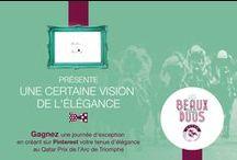 #LesBeauxDuos par Elodie In Paris / Retrouvez la vision de l'élégance de elodieinparis.com