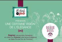 #LesBeauxDuos par Il Etait Une Pub / Retrouvez la vision de l'élégance par www.iletaitunepub.fr