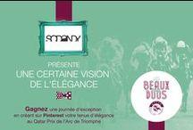 #LesBeauxDuos par SoDandy / Retrouvez la vision de l'élégance de Sodandy.com