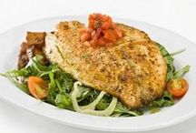 Healthy Food Recipes With Fish / Discover Pins about fish recipes on Pinterest. See more about tilapia fish recipes, white fish recipes and cod fish recipes. / by Maher Mashaal