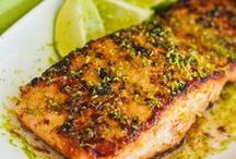 Salmon Recipes / Discover Pins about Baked Salmon Recipes on Pinterest. See more about healthy baked salmon and salmon recipes. / by Maher Mashaal