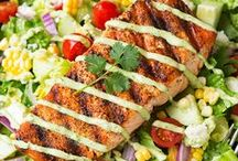 Fish Recipes: Salmon, Halibut, Tilapia / Discover Pins about Baked Salmon, Halibut, and Tilapia Recipes on Pinterest. See more about healthy baked salmon and salmon recipes. / by Maher Mashaal