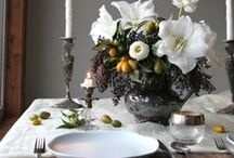 Wedding-Floral and table arrangements / by Abby E