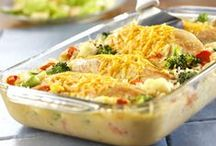 Easy Casserole Recipes / Prepare These Tasty Casserole Recipes for a Heat-and-Eat Easy Casserole Recipes - Supper your Family and Make an Easy, Hearty Dinner with Recipes for Chicken Casserole, Rice Casserole, and More. / by Maher Mashaal