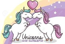 Unicorns Rule! / Unicorns might not be real, but the love for them certainly is.