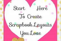 Scrapbooking / Tons of scrapbooking ideas and inspiration!