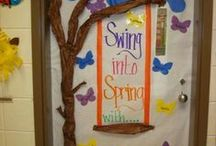 Classroom Door Decorating / Really fun ways to decorate your classroom door for any occation.  / by Lesson Planet