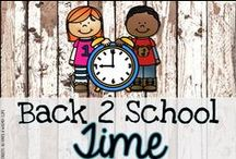 Back to School Time / It's time to get ready for back to school in the primary classroom!
