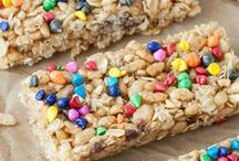 Snacks / Granola bars, energy bites, snack mixes...anything you need to get through the day.  Snack recipes are a must in life!