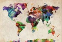 Globe My World / by Milly Weis