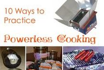 Stoves / Cooking / Emergnecy stoves and cooking pins for survival / by reThinkSurvival.com