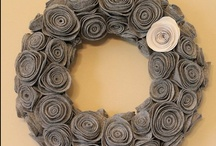 Crafts - Wreaths / by Teresa Pannell