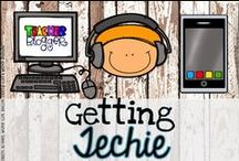 Getting Techie! / Ideas for integrating technology into the primary classroom.