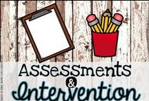 Assessments & Interventions / Assessments and intervention ideas for the primary classroom!
