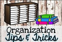 Organization Tips & Tricks / Ideas for organizing the classroom. Trying to find what works, one handstand at a time!