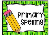 Primary Spelling / All sorts of activities for spelling in the primary grades.
