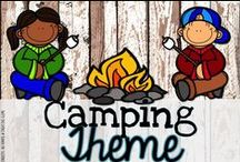 Camping Theme Classroom / All about the primary classroom -- camping theme of course!