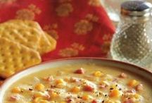 Soups & Breads / Hearty Soups and Homemade bread - the perfect combination!
