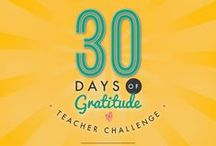 "30 Days of Gratitude Teacher Challenge (#ThankfulTeacher) / Teaching can be tough, but it's the little things that make it all worthwhile--an ""A-Ha"" moment, seeing students connect with each other, or an unexpected appreciation. We want to celebrate these everyday reasons for gratitude. Share a visual that tells us what you're thankful for today as an educator, tag Lesson Planet and use the hashtag #ThankfulTeacher in the description, and we'll repin our favorites here! http://www.lessonplanet.com/article/teacher-resources/make-march-a-month-of-gratitude / by Lesson Planet"