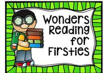 Wonders Reading for Firsties / First grade using the Wonders reading program.