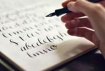 Fonts and Lettering / by Andrea Cross