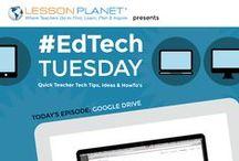 EdTech Tuesday Videos / Quick videos with teacher tech tips, reviews, and interviews, new each week!