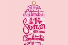 Semainier St Valentin / Nos gels douches ont des messages à passer pour la Saint Valentin ! N'hésitez pas à les partager :) #Bourjois #typo #typogaphie #produit #geldouche #brand #StValentin #Valentinedays #semainier