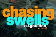 Chasing Swells / The upcoming release from A.L. Goulden titled Chasing Swells.