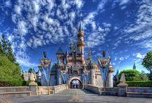 Disneyland / Disneyland Resort, Disneyland Park, Disney California Adventure, Downtown Disney District, Disneyland Hotel, Grand Californian Hotel & Spa, & Paradise Pier Hotel / by Joanna E.D.M.
