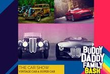 """Super and Vintage Cars / Get awed as our """"Age Old Stunners"""" and """"Modern Beasts"""" welcome you. Buddy Daddy Family Bash : www.BuddyDaddy.com"""