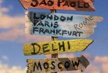 Lugares que eu quero ir...
