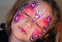 Beauty: Face Painting / by Aislyn Abraham