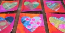February / Ground Hog's Day, Valentine's Day Activities & Crafts