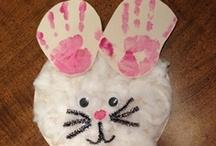 April / April Fool's, Easter, Chicks & Bunnies Activities & Crafts