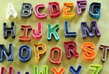 Letters and Numbers / Ideas to teach letters, numbers, words