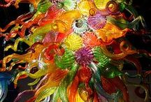 Art Glass / ~ One of a kind blown glass work from various artists ~ / by Keller Hastings