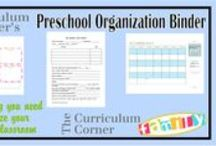 Preschool, Play School and Daycare Day Planning / Helping the days go smoothly