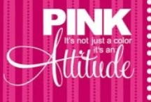 FOR THE LOVE OF PINK / Pink is my favorite color, my attitude, my girly side, my love, and it makes me oh so Happy!!  #pink #girl #attitude