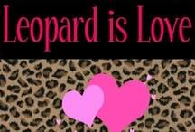 ANIMAL PRINT LOVER / I LOVE Animal print of all kinds!! Leopard is my favorite! #animalprint #leopard #zebra #cheetah #giraffe