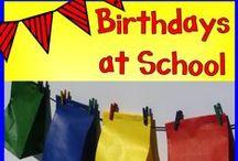 Celebrating Birthdays / Fun things to do with my buddies on their birthdays.